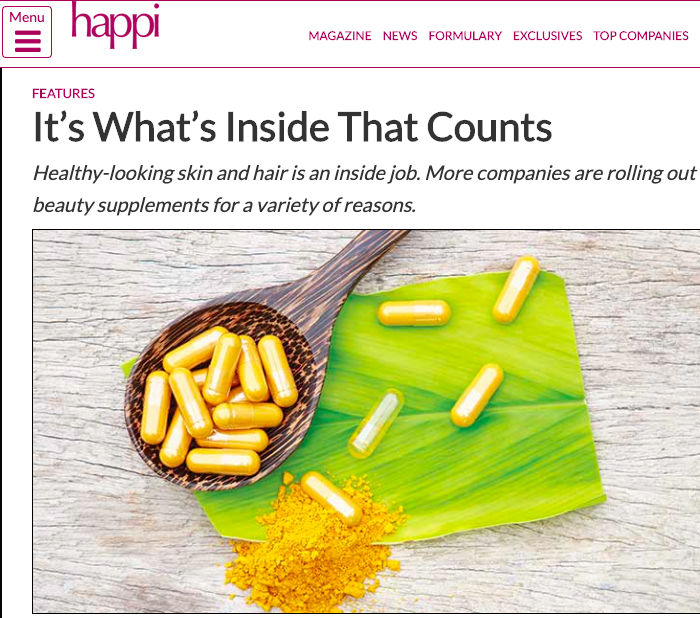 It's What's Inside that Counts – Happi